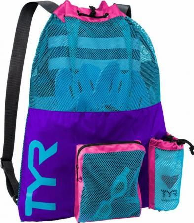 Рюкзак сетка TYR Big Mesh Mummy Backpack, цвет 545