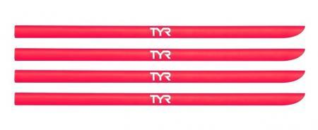 Резинки для лопаток TYR Hand Paddle Replacement Straps, цвет 610 (Red)