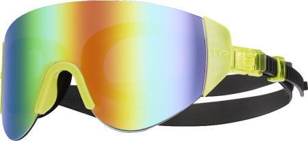 Очки для плавания TYR Renegade Swimshades Mirrored, цвет 968 (Fl. Yellow)
