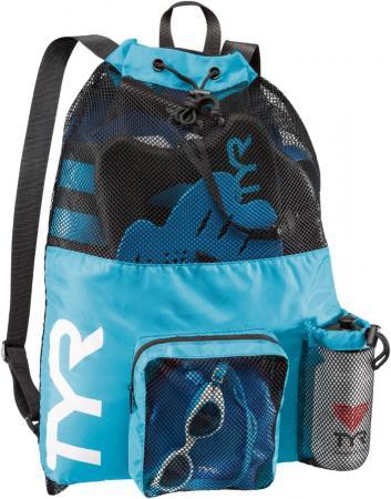 Рюкзак сетка TYR Big Mesh Mummy Backpack, цвет 420 (Blue)