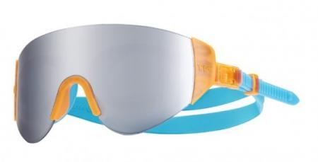 Очки для плавания TYR Renegade Swimshades Mirrored, цвет 806 (Si. Orange)