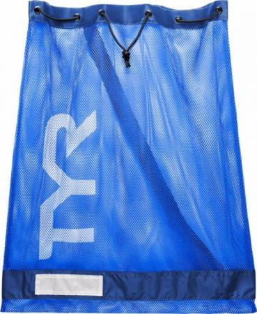 Сумка сетка для бассейна TYR Alliance Mesh Equipment Bag, цвет 428 (Royal)