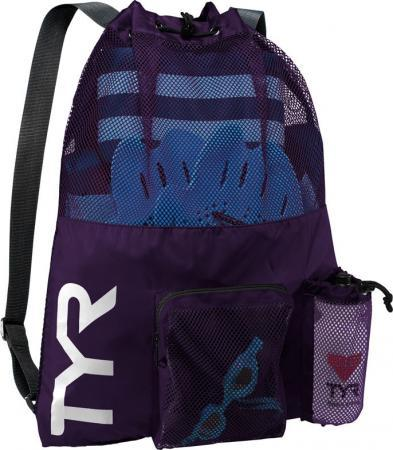Рюкзак сетка TYR Big Mesh Mummy Backpack, цвет 510 (Purple)