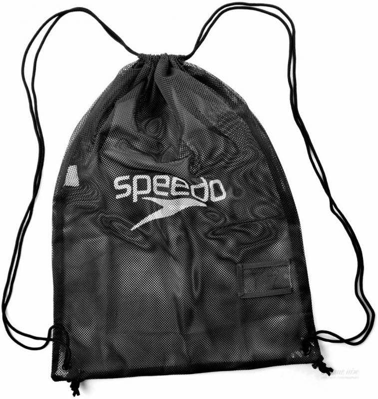 Сетка-рюкзак Speedo Equipment Mesh Bag, 35л., цвет 0001
